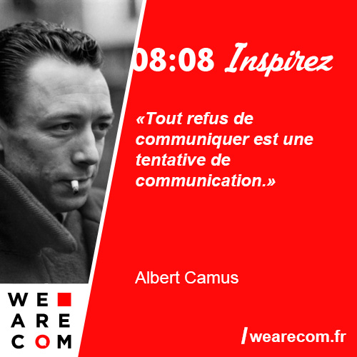 citation Albert Camus communication