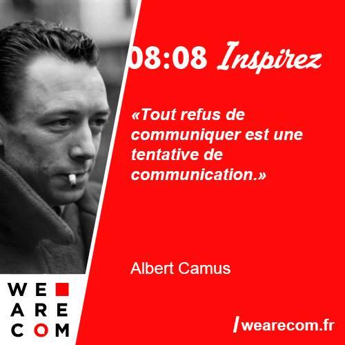 citation Albert Camus communication