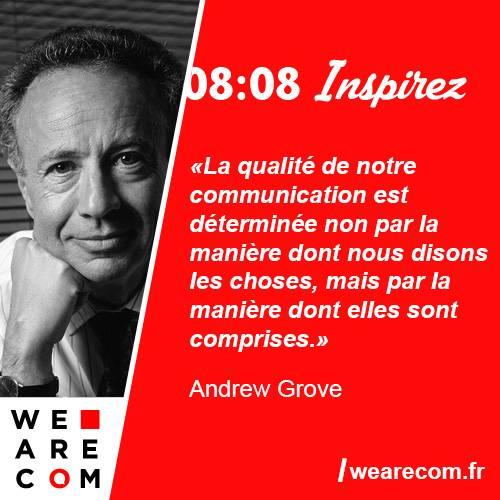 citation Andrew Grove communication