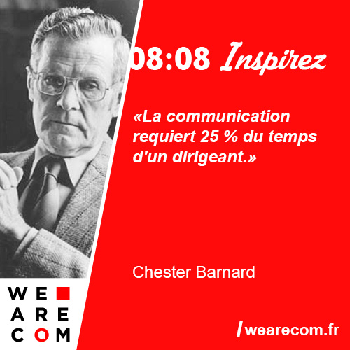 citation chester barnard communication