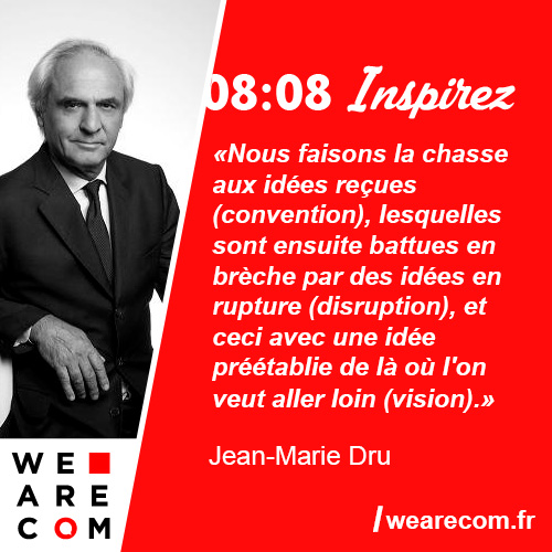 citation jean-marie dru communication