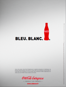 publicité coca cola communication france