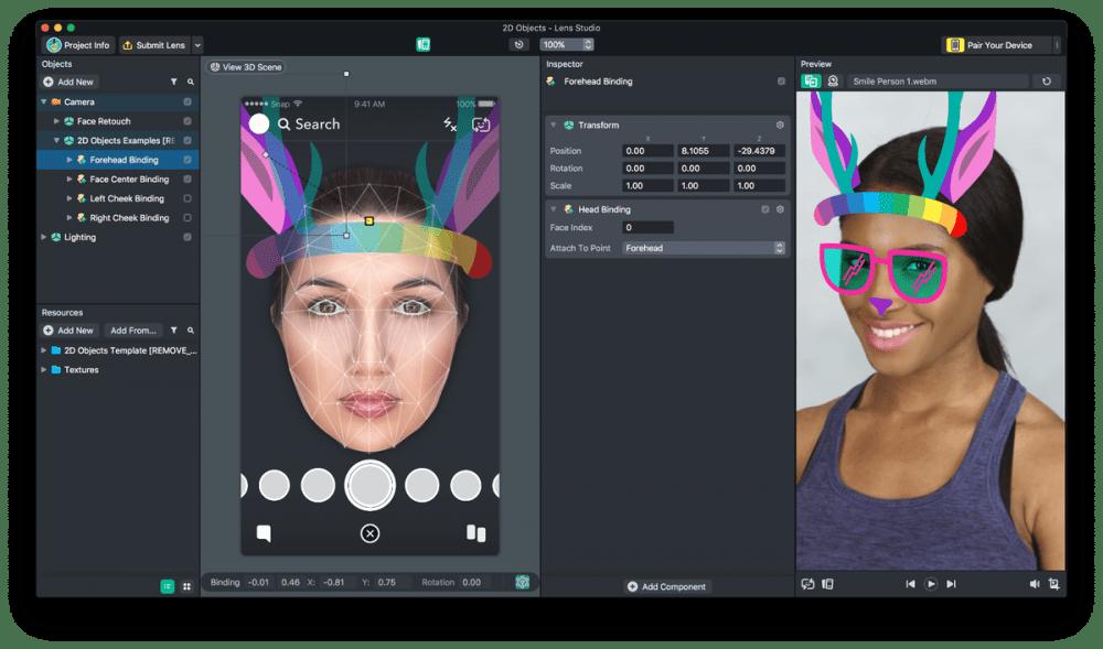 Snapchat-Lense-Studio